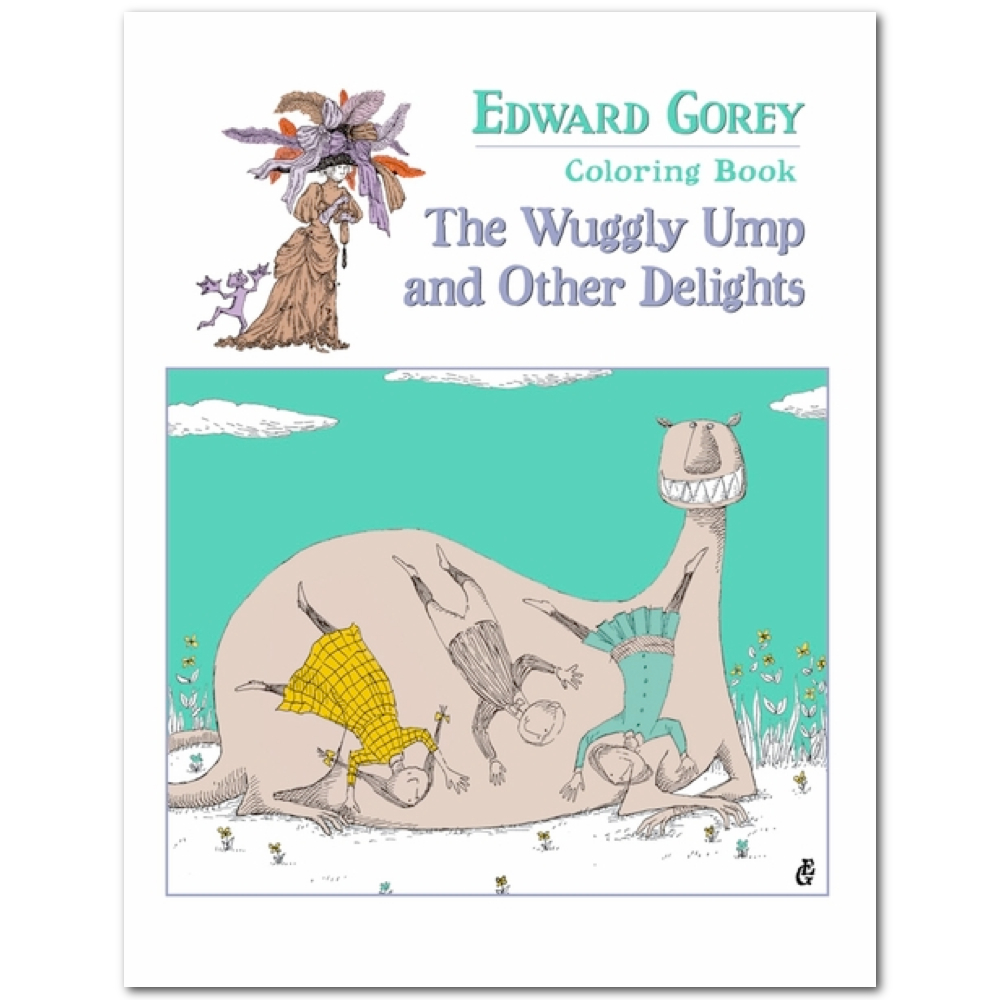 Coloring Book: Edward Gorey The Wuggly Ump