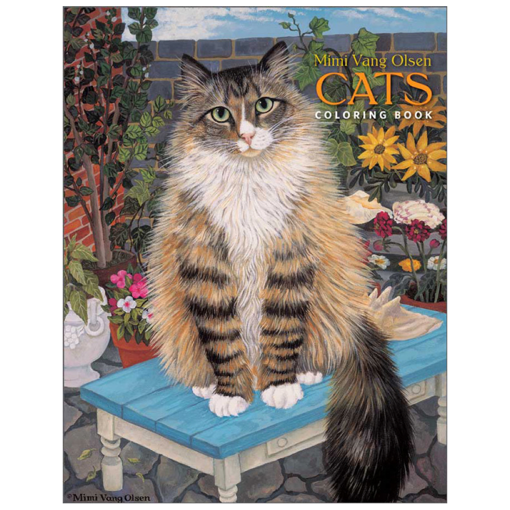 Coloring Book: Mimi Vang Olsen's Cats