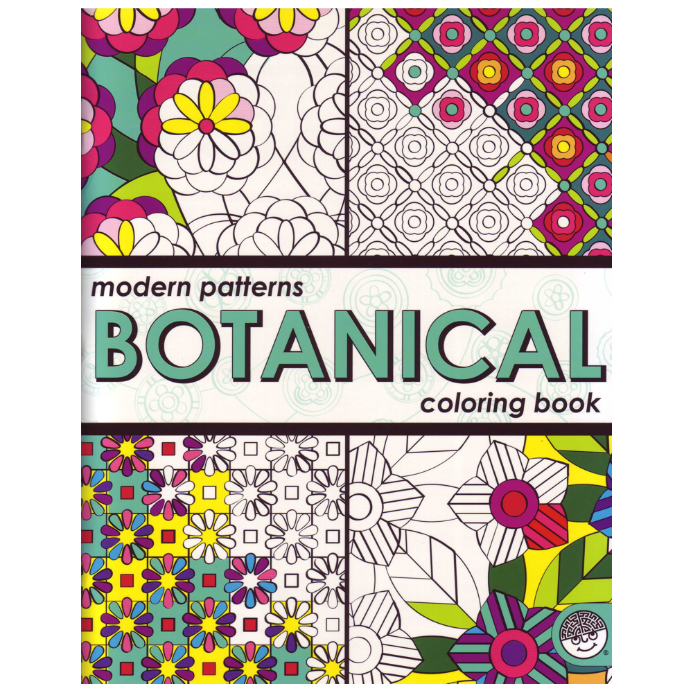 Coloring Book: Botanical