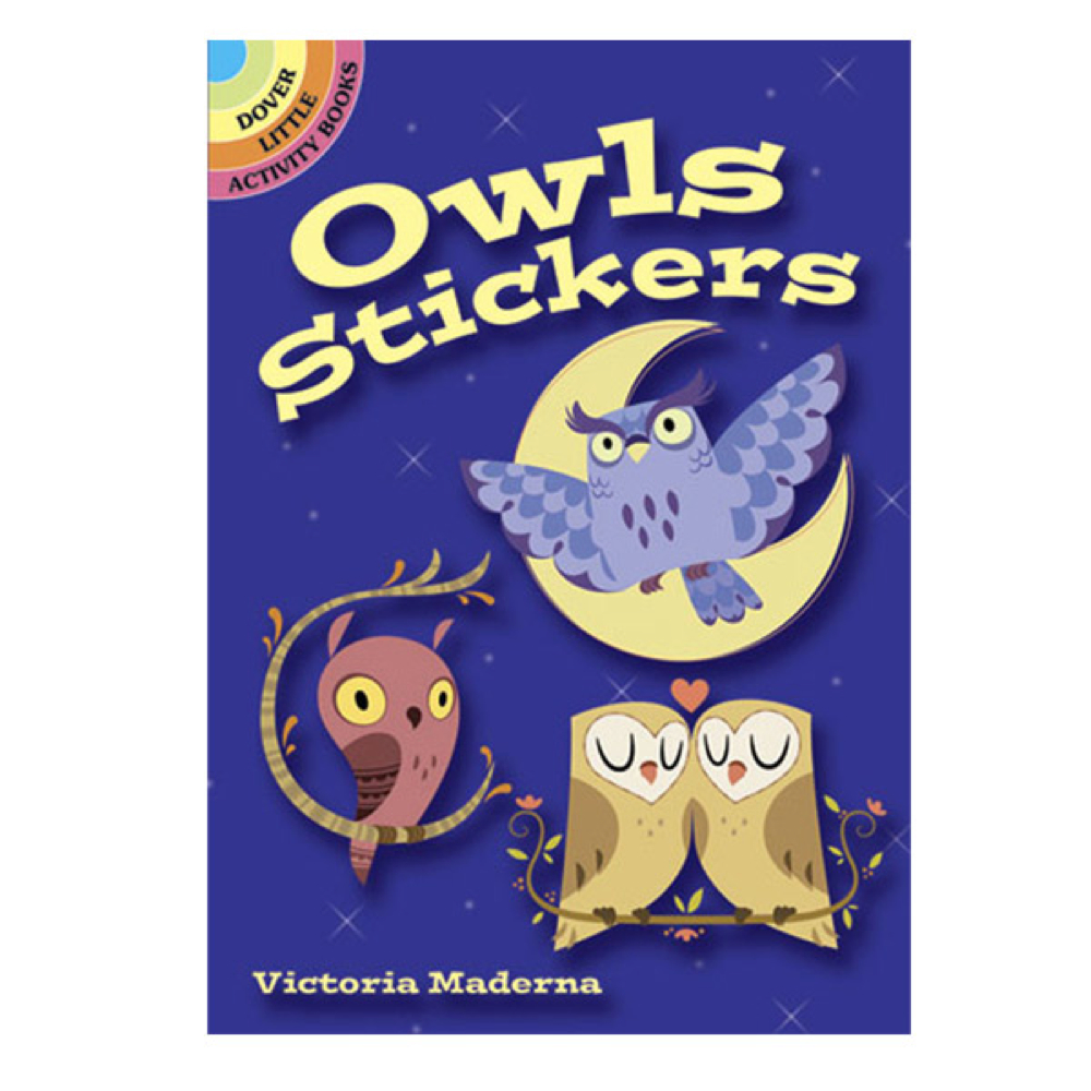 Dover Sticker Book Owls
