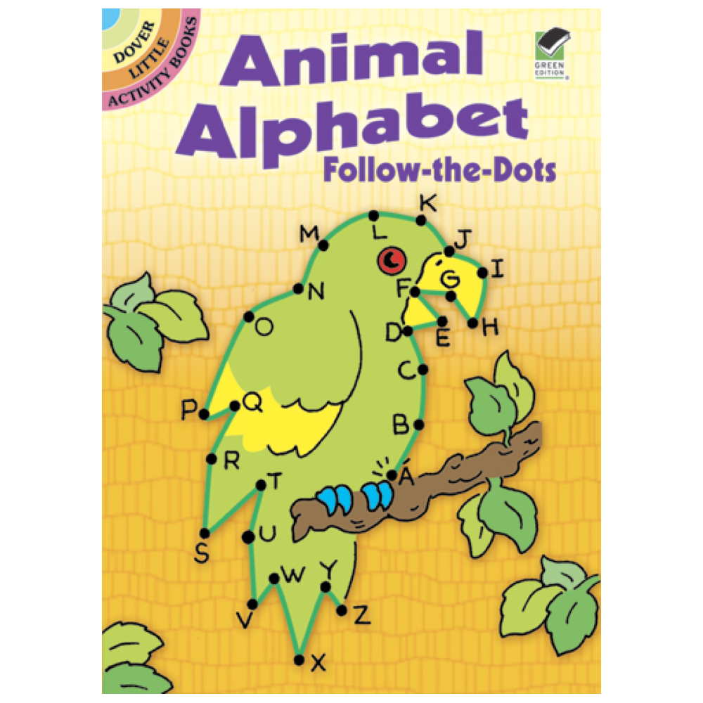Dover Activity Book Animal Abc's/Dot To Dot