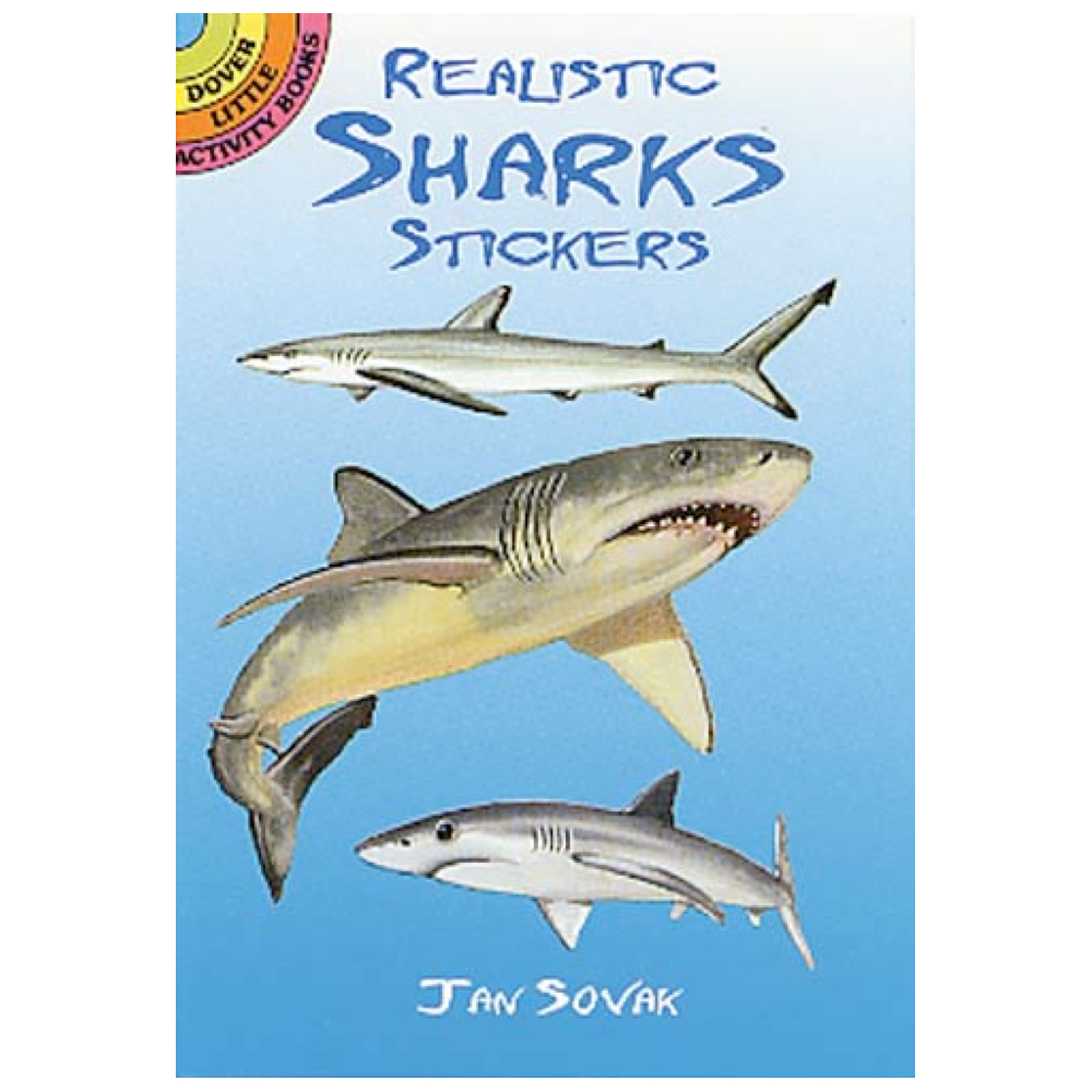 Dover Sticker Book Sharks
