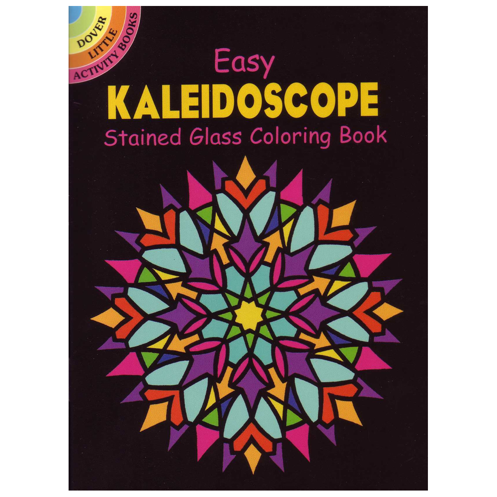 Dover Stained Glass Coloring Book Kaleidoscop
