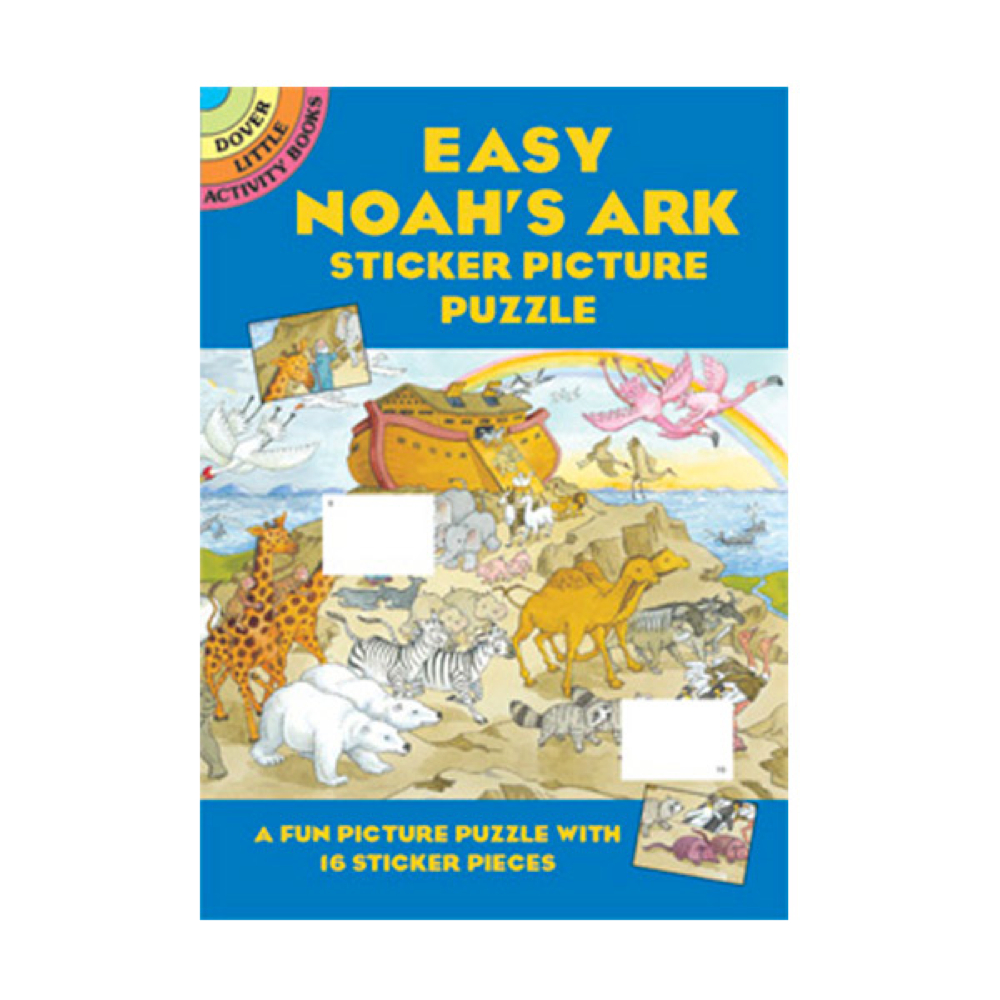 Dover Sticker Picture Puzzle Noah's Ark