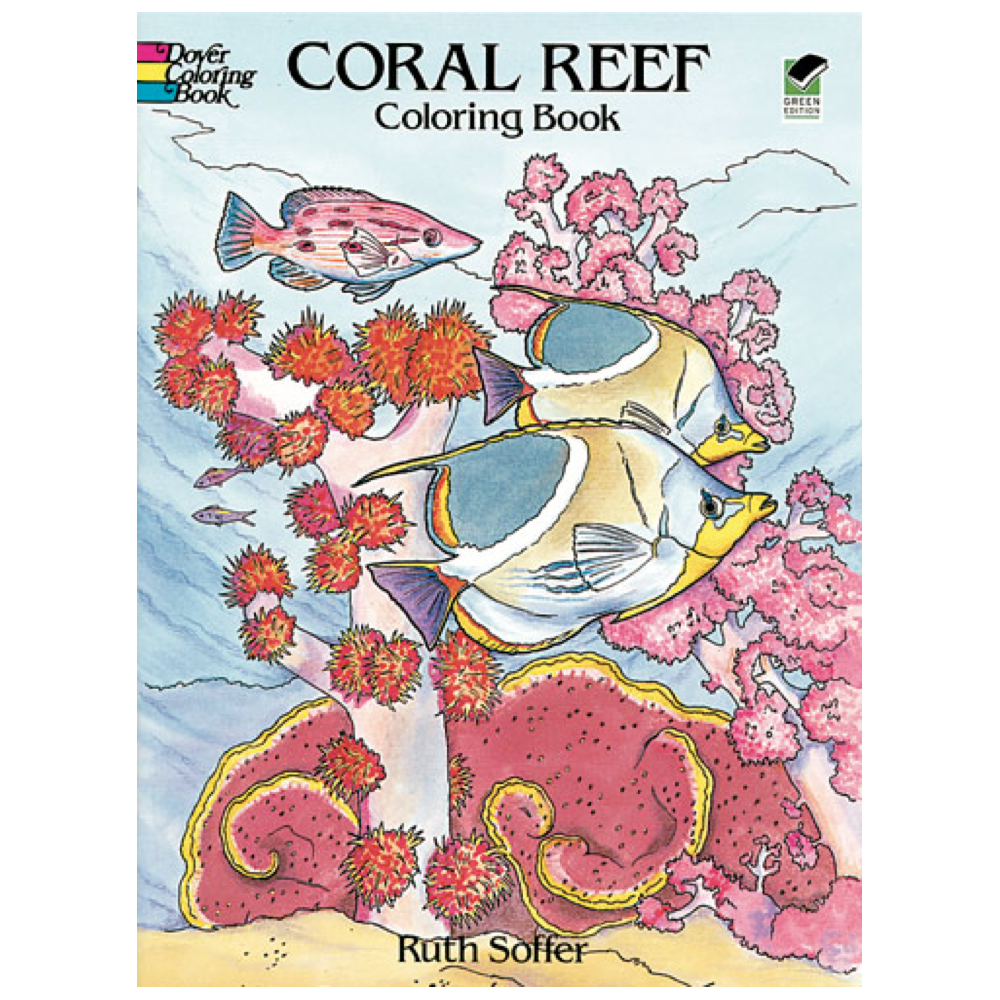 Dover Coloring Book Coral Reef