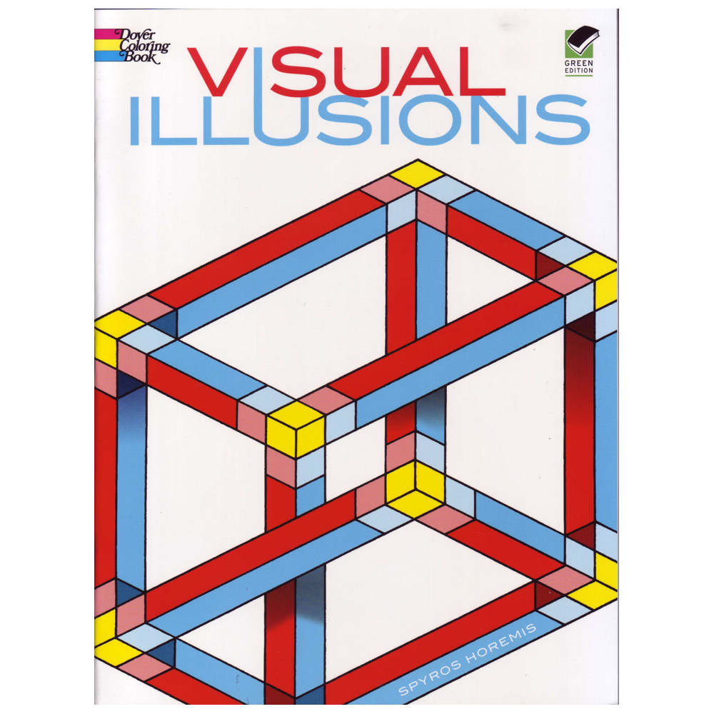 Dover Coloring Book Visual Illusions
