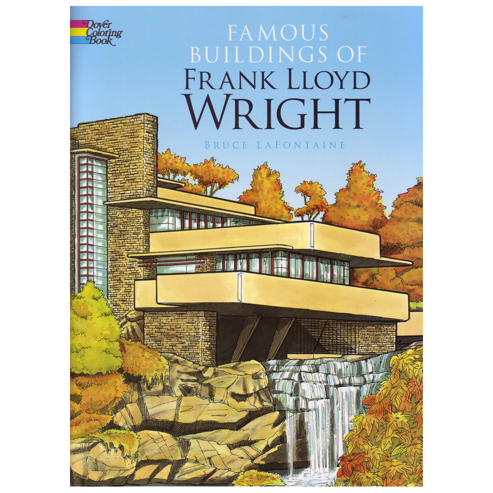 Dover Coloring Book F.l.wright Buildings