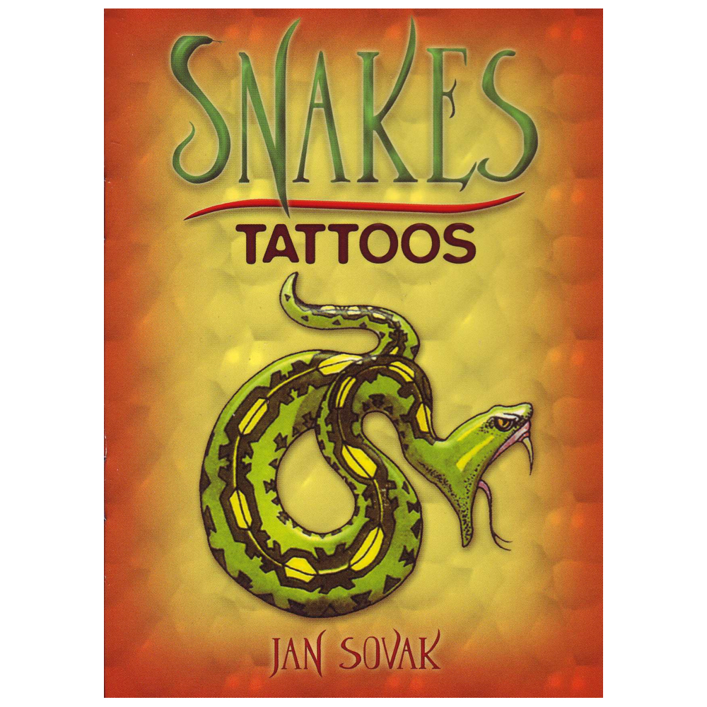 Dover Temporary Tattoos Snakes