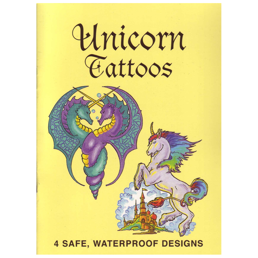 Dover Temporary Tattoos Unicorns