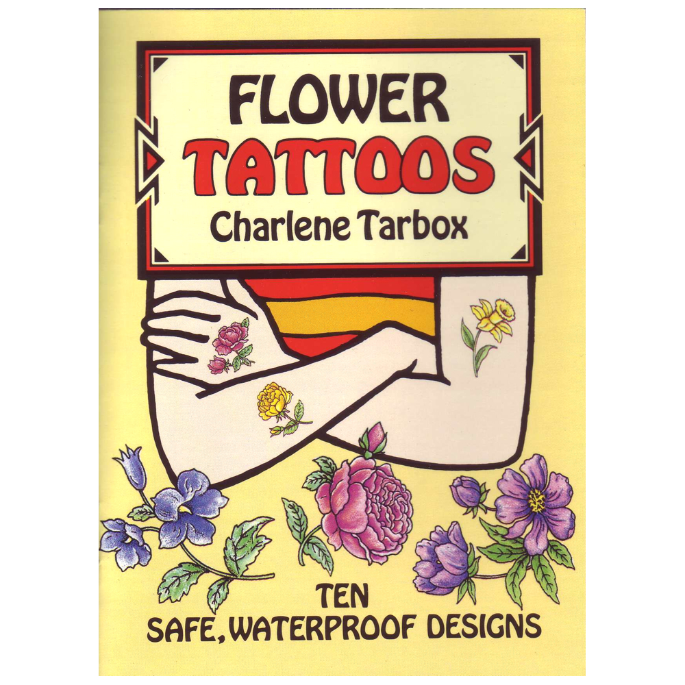 Dover Temporary Tattoos Flowers