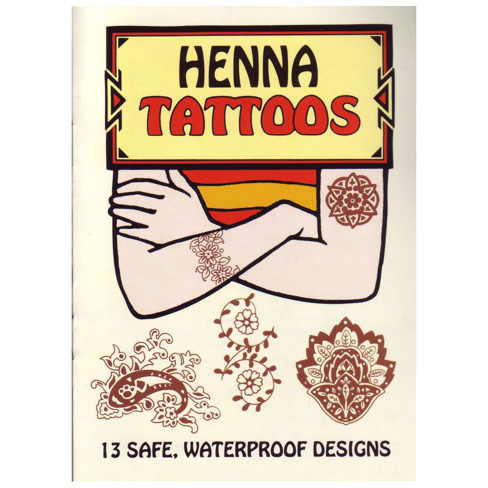 Dover Temporary Tattoos Henna Designs