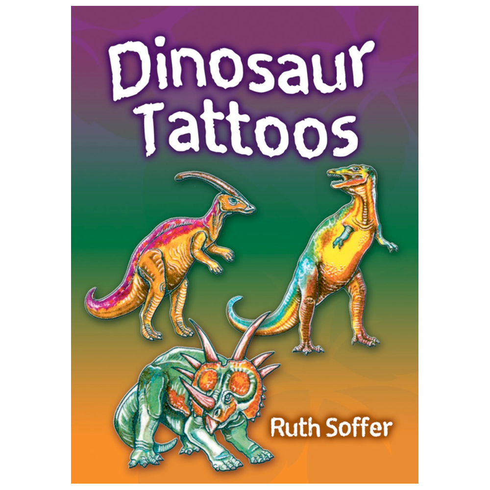 Dover Temporary Tattoos Dinosaurs