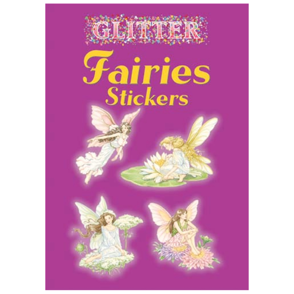 Dover Sticker Book Glitter Fairies