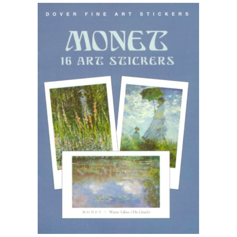Dover Sticker Book Monet