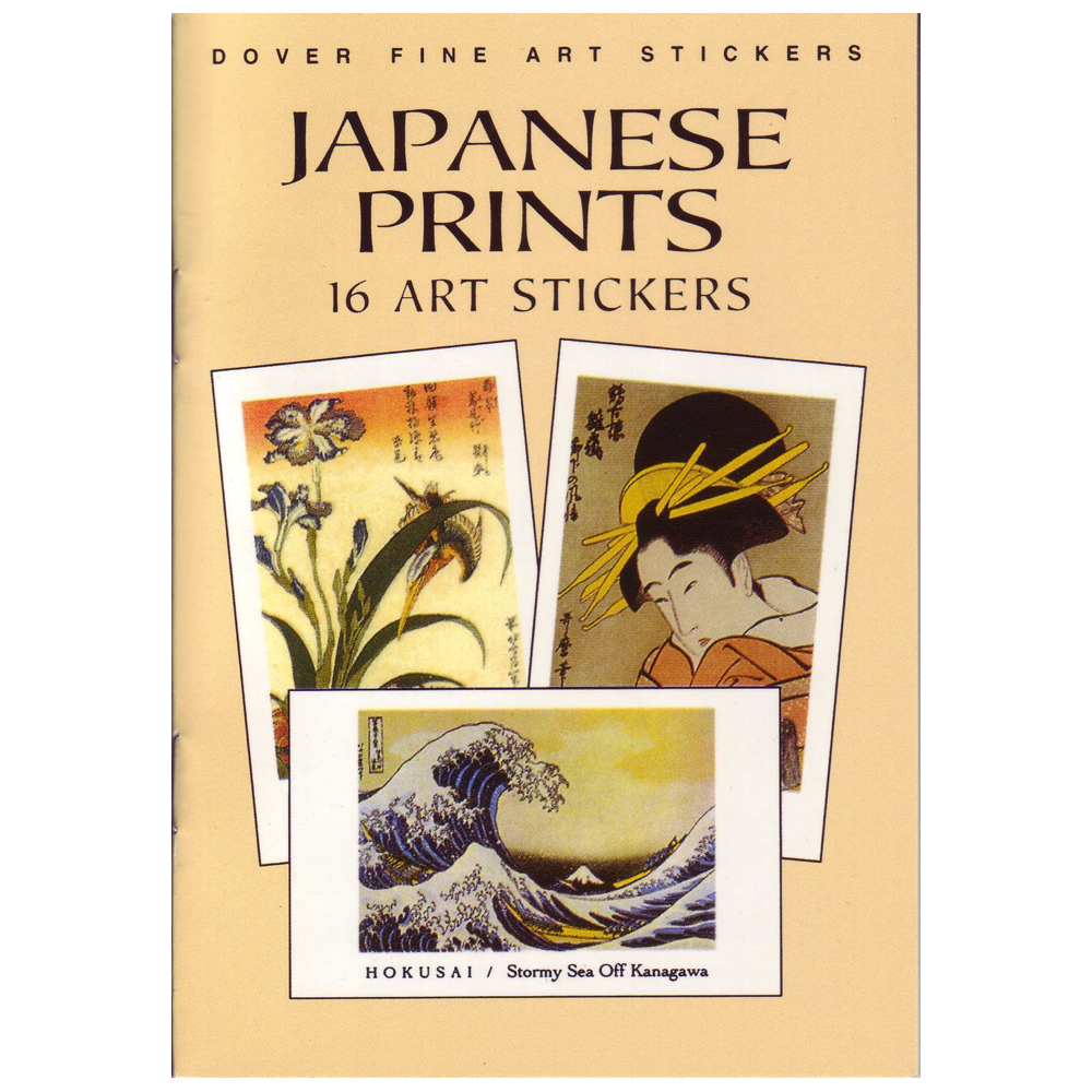 Dover Sticker Book Japanese Prints
