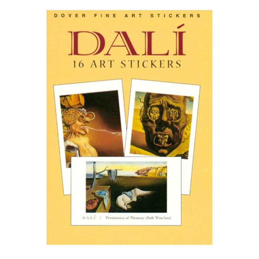 Dover Sticker Book Dali