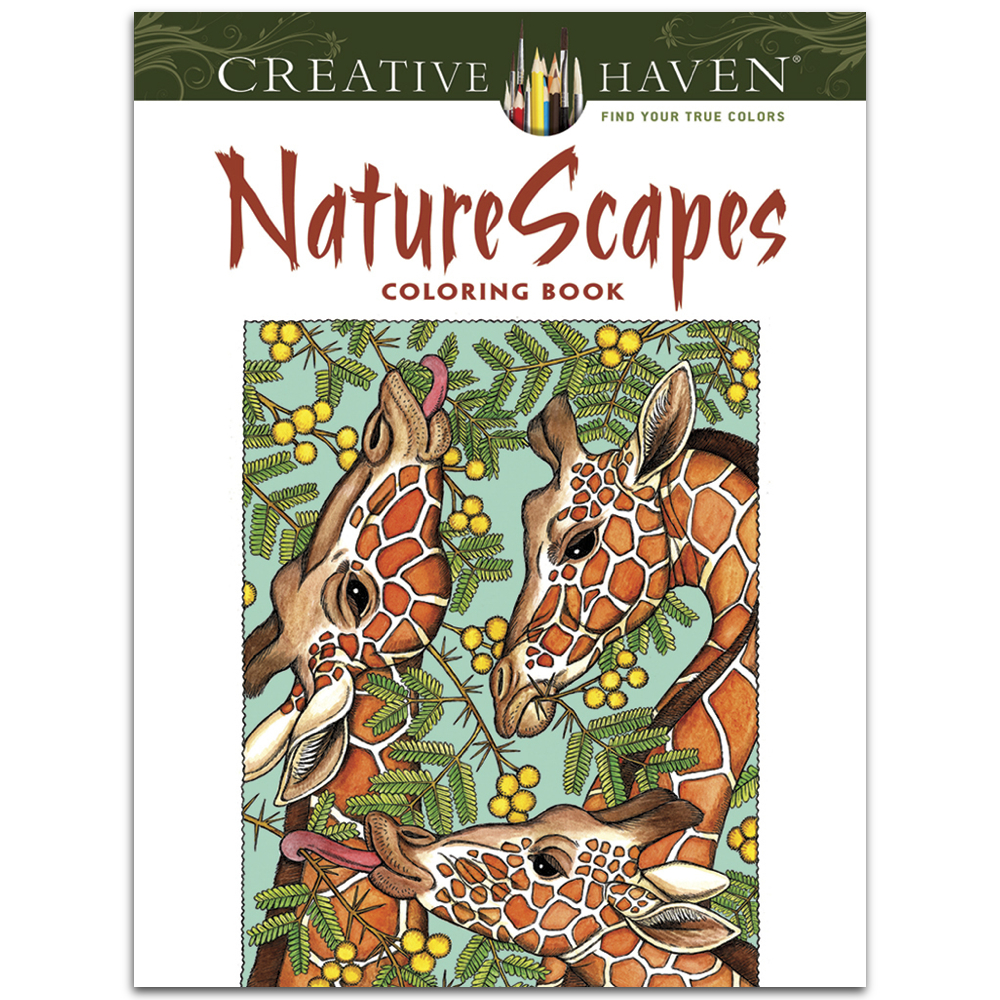 Creative Haven Coloring Book Naturescapes