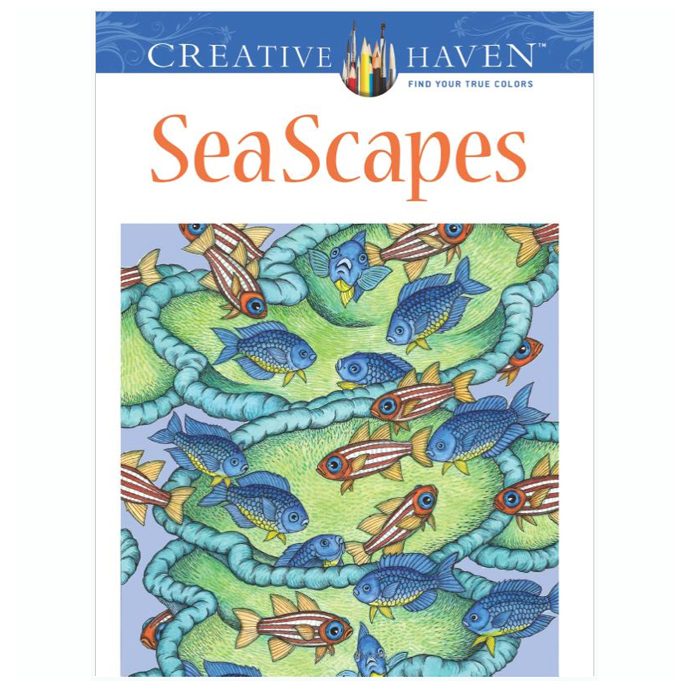 Creative Haven Coloring Book Seascapes
