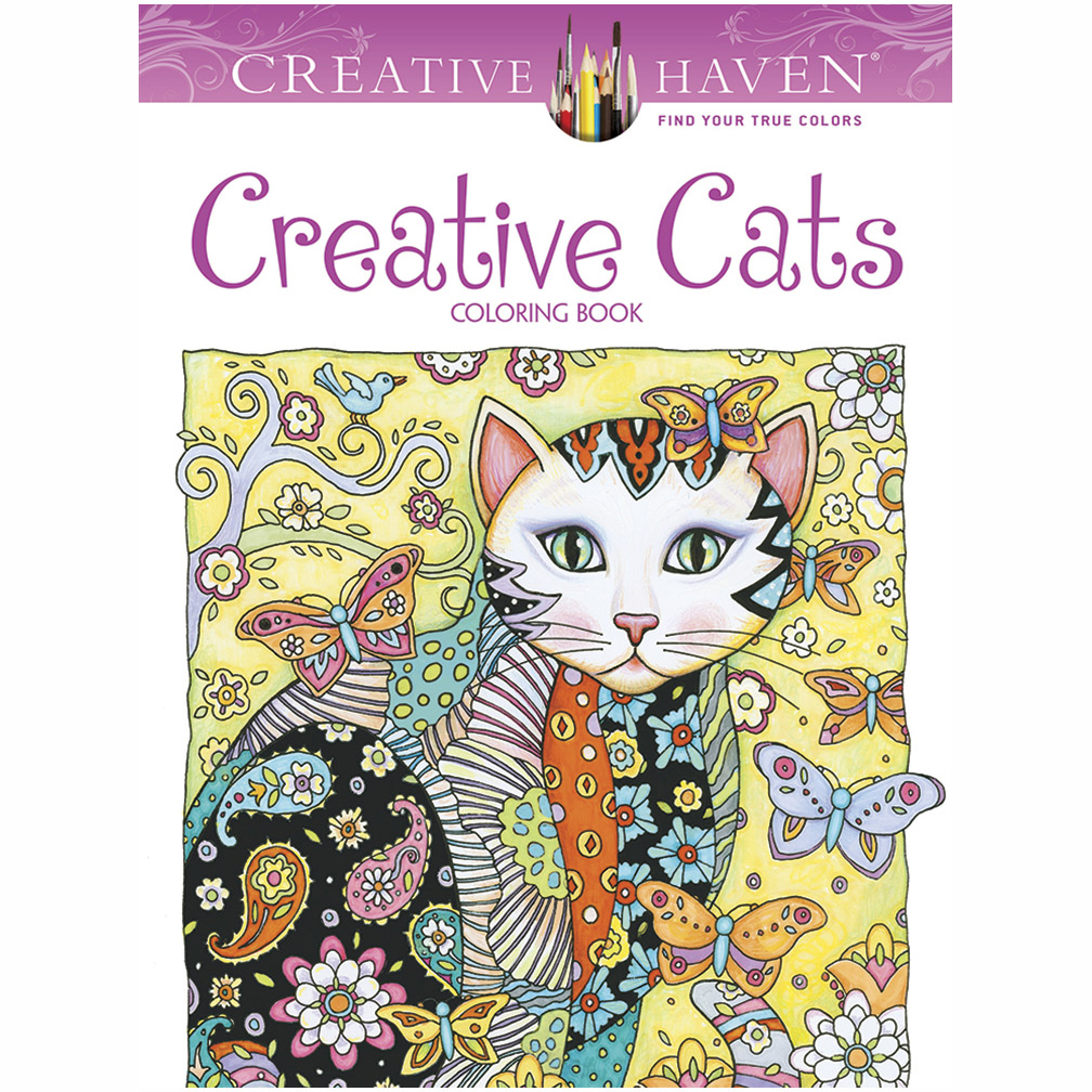 Creative Haven Coloring Book Creative Cats