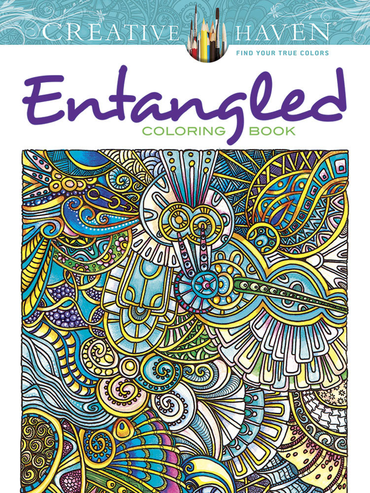 Creative Haven Coloring Book Entangled