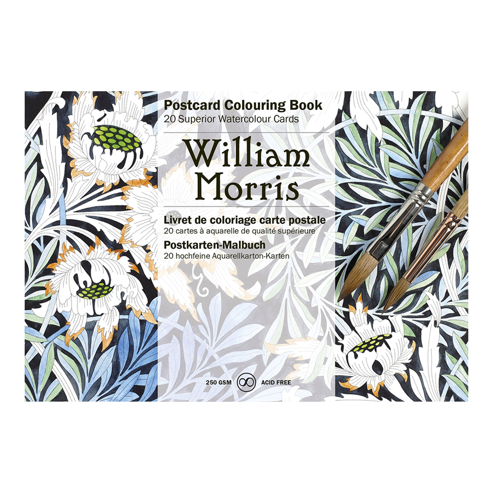 Artists' Colouring Postcard William Morris