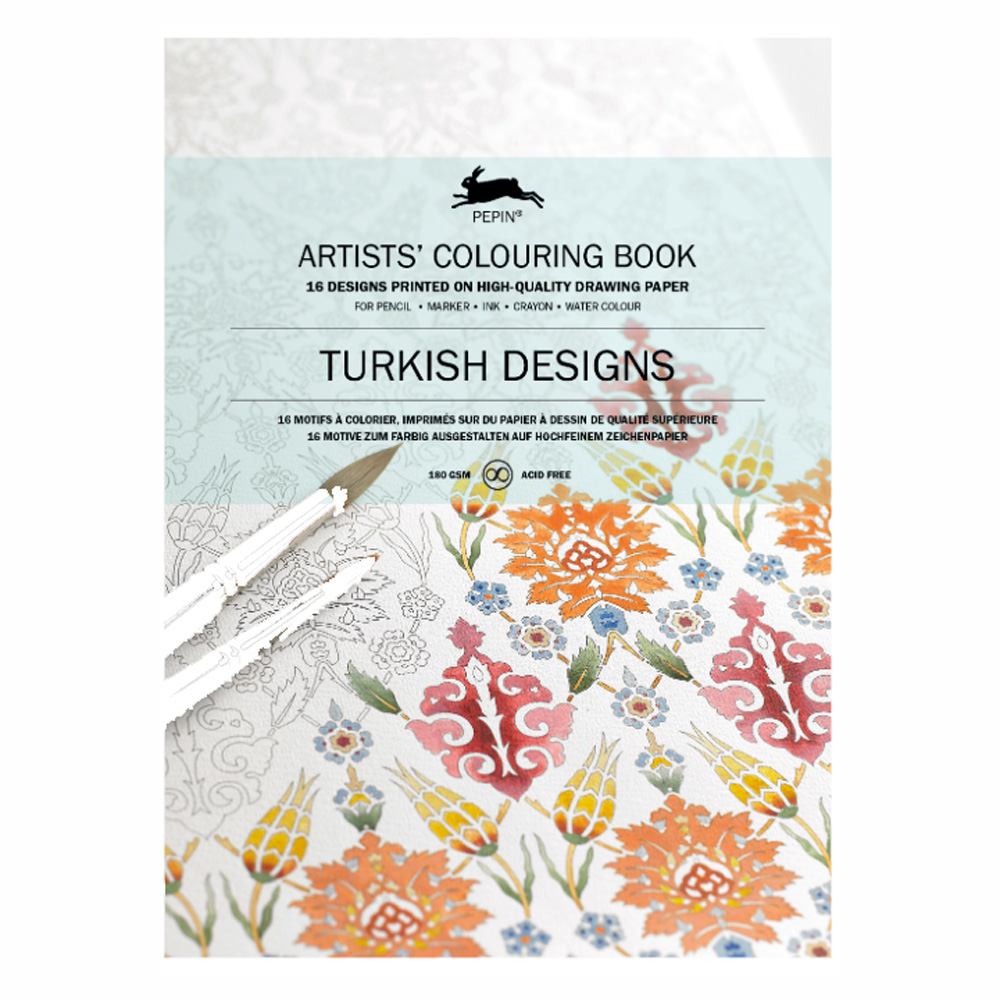 Artists' Colouring Book Turkish Designs