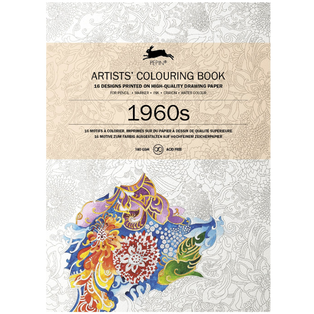 Artists' Colouring Book 1960's