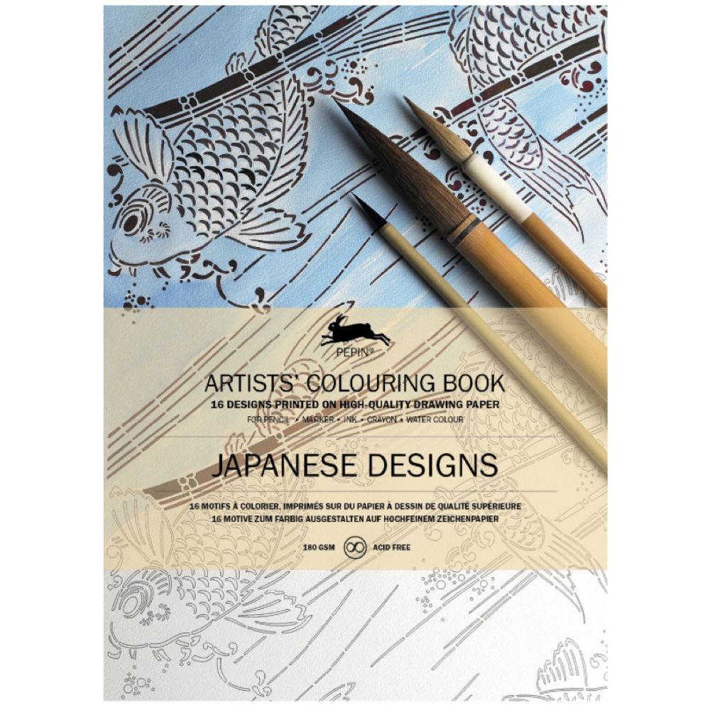 Artists' Colouring Book Japanese Designs