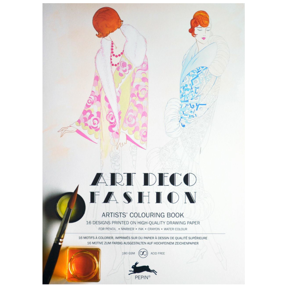 Artists' Colouring Book Art Deco Fashion