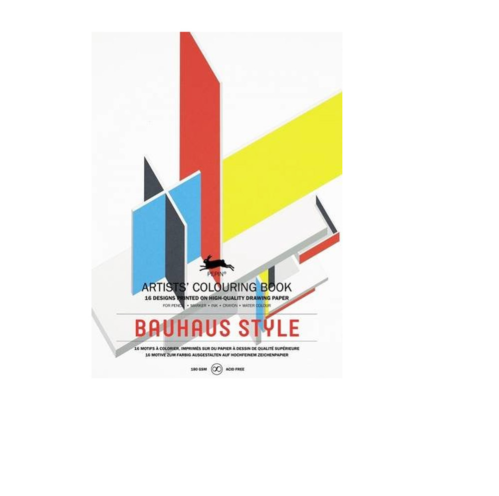 buy artists colouring book bauhaus style