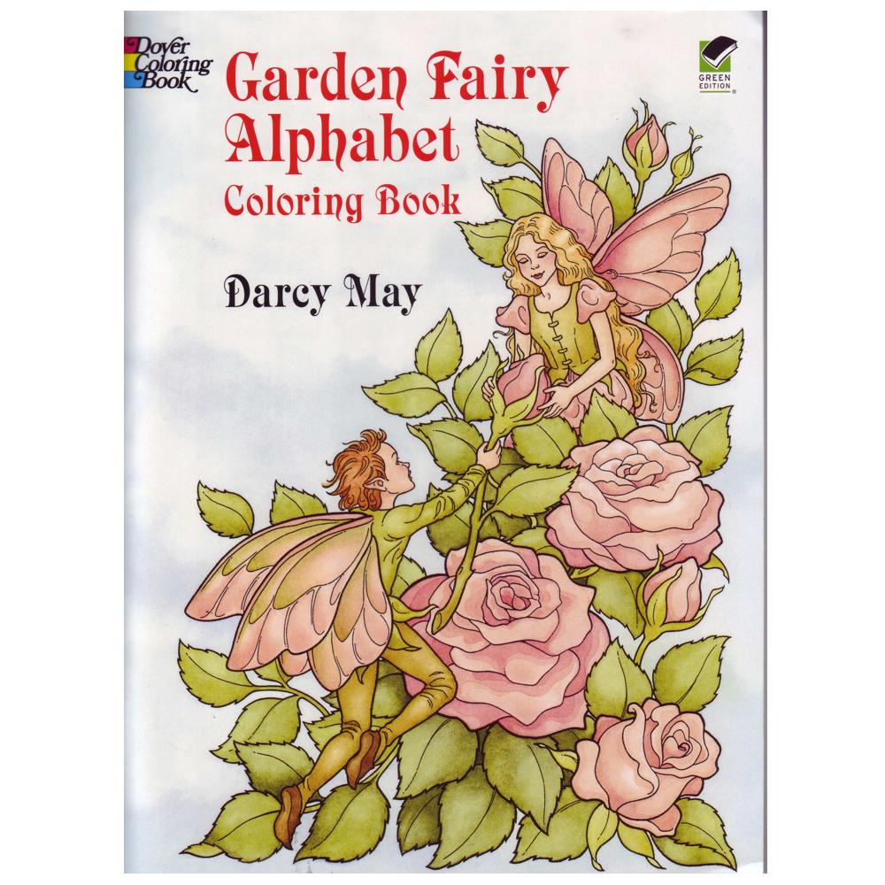 Dover Coloring Book Flower & Fairy