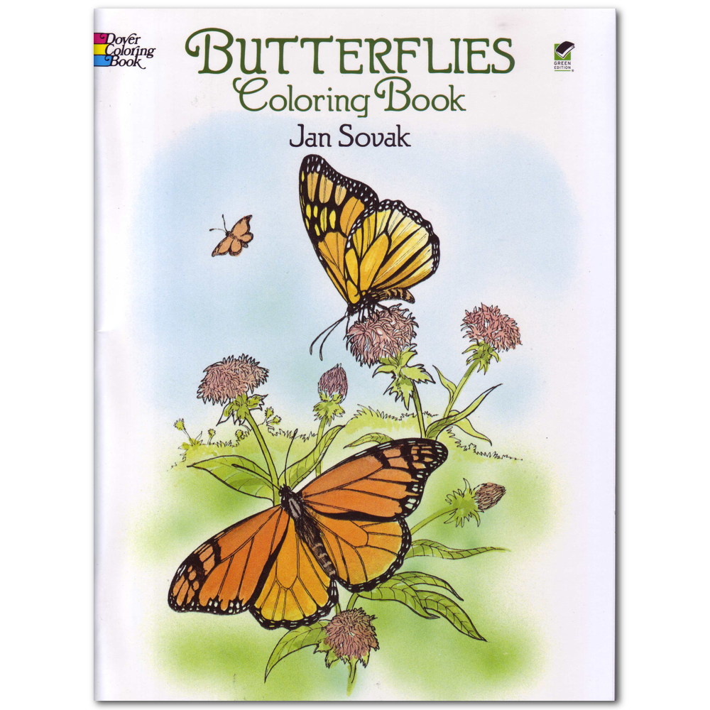 Dover Coloring Book Butterflies
