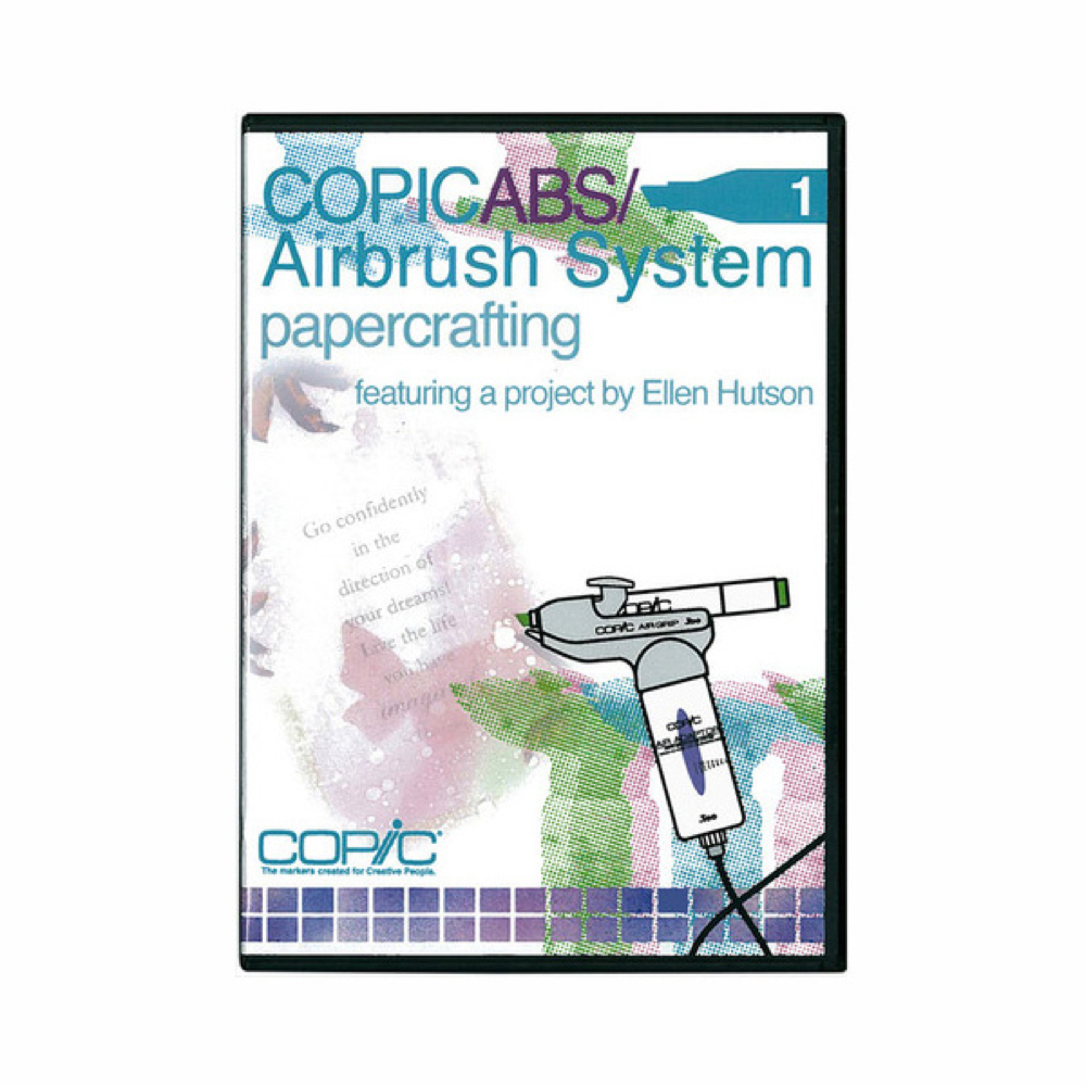 Copic Marker Airbrush System Dvd 1