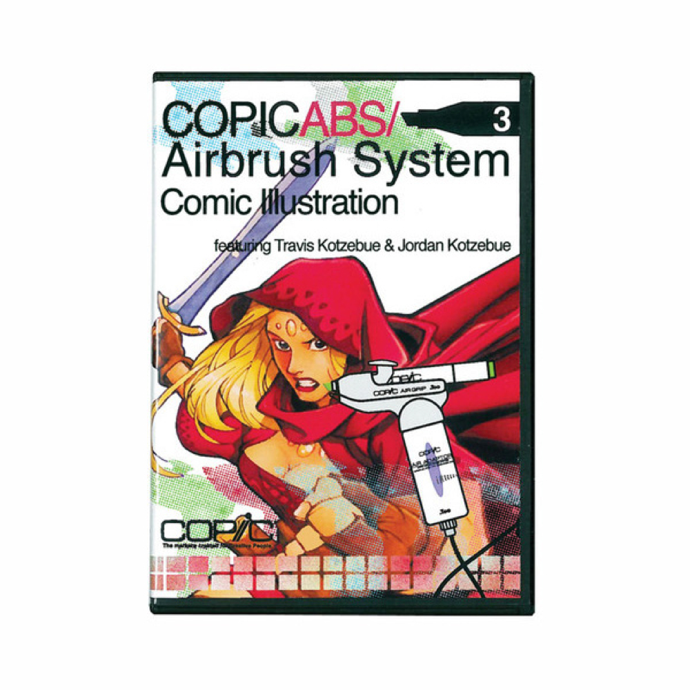 Copic Marker Airbrush System Dvd 3