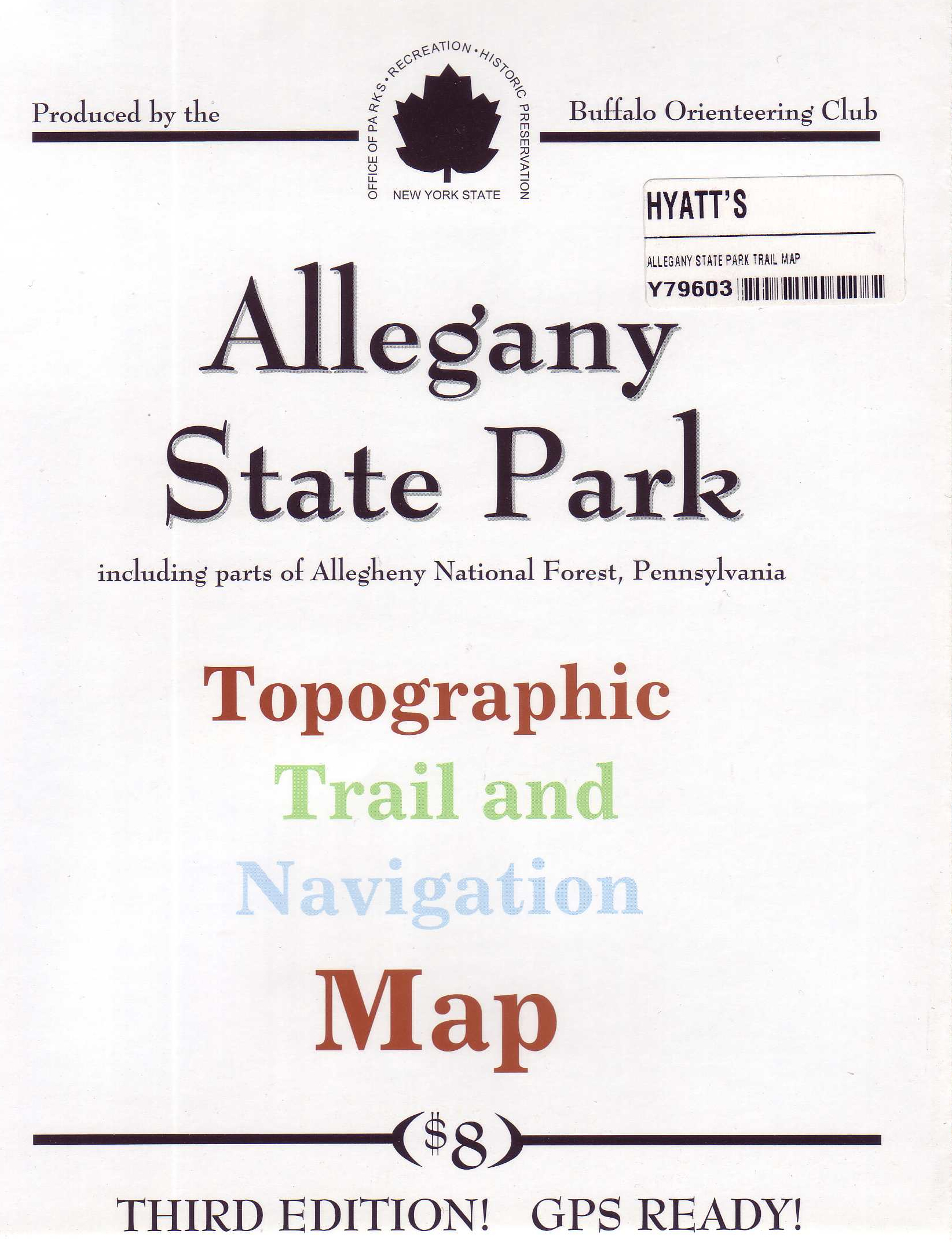 Allegany State Park Trail Map