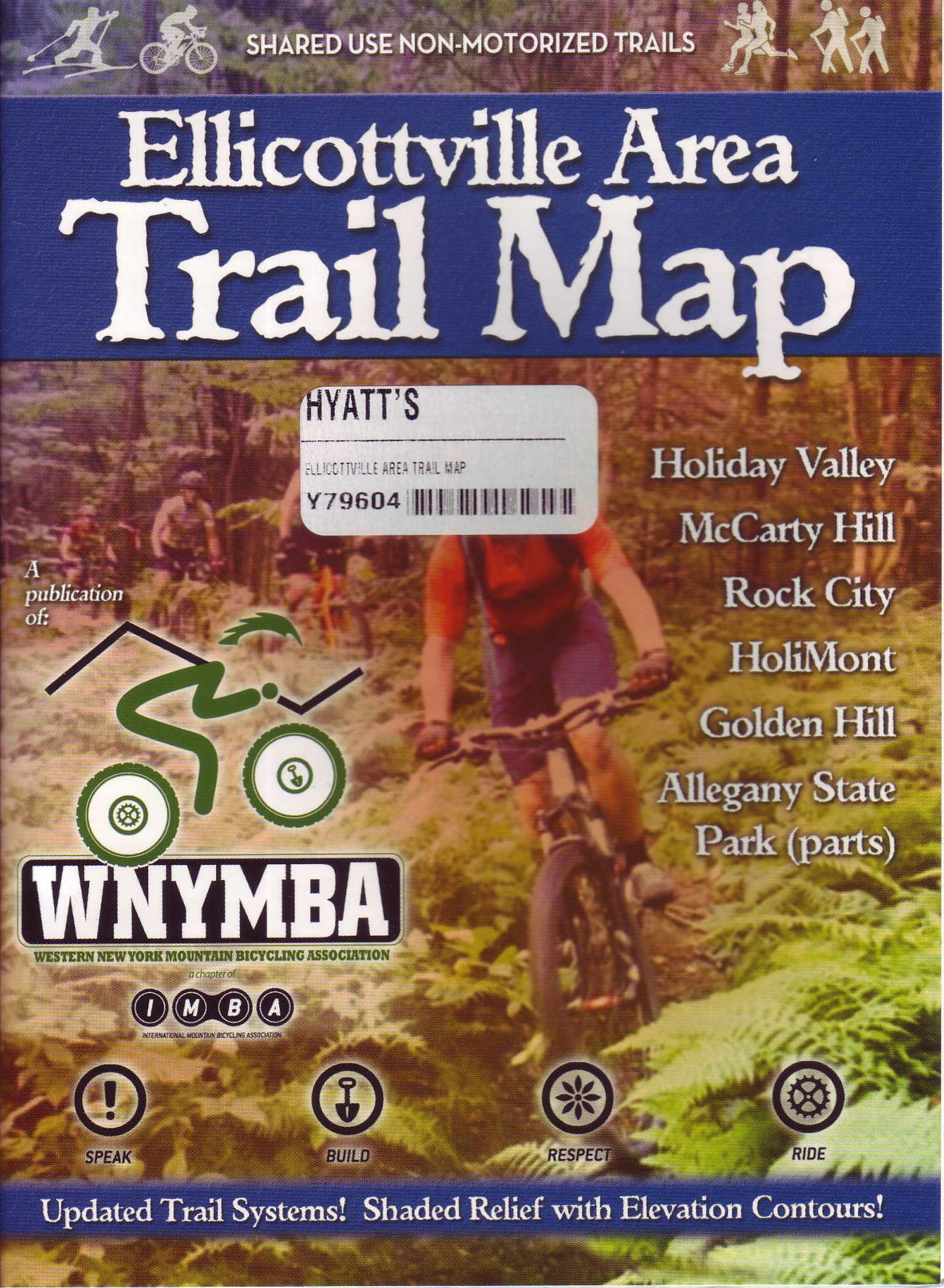 Ellicottville Area Trail Map