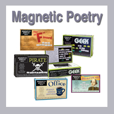 Magnetic Poetry Kits