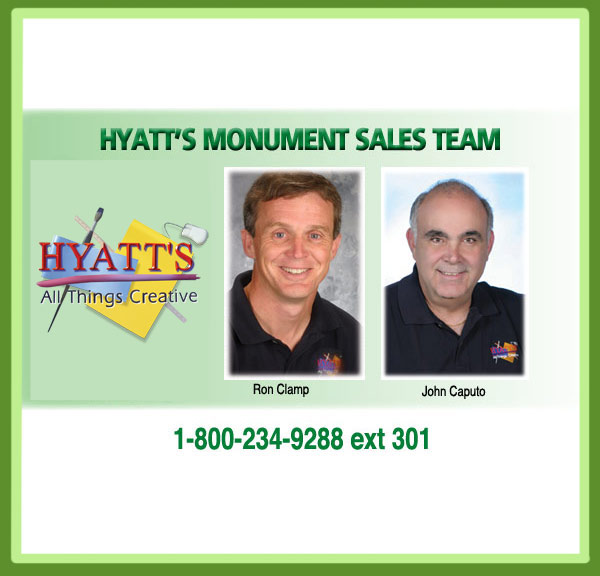 Monument Sales Team
