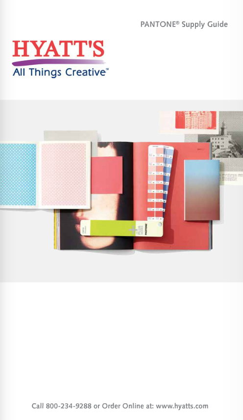HYATTS Pantone Catalog