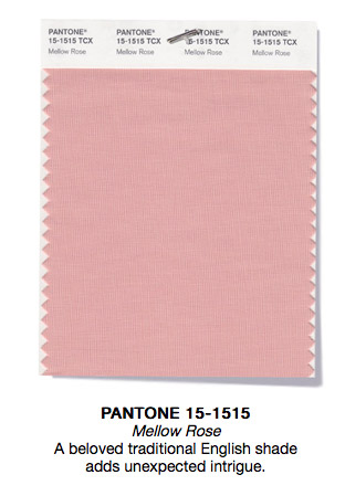 Pantone 15-1515 TCX Mellow Rose