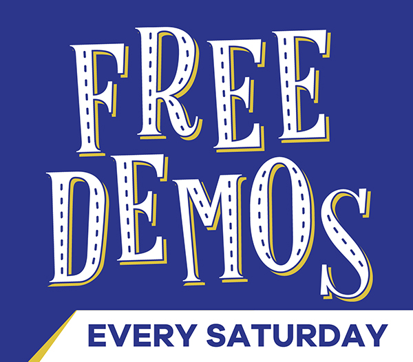 free in-store demo
